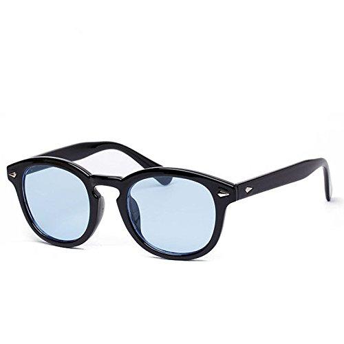 ジョニーデップファッションサングラスヴィンテージフレームレトロメンズメガネ眼鏡   B074KDCM52