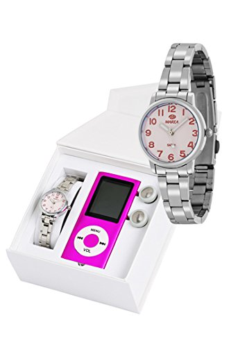 Reloj marea niña comunion b21166/23 con REPRODUCTOR MP4: Amazon.es: Relojes