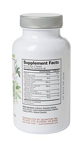 Lavle on immune support bottle showing supplemental facts