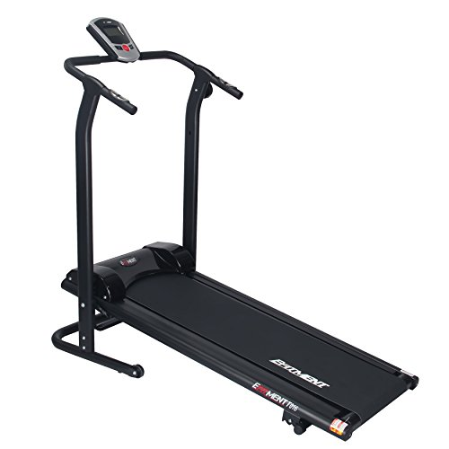 EFITMENT Adjustable Incline Magnetic Manual Treadmill w/Pulse Monitor - T016