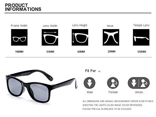 Muchachos de polarizadas 1 A los para Gafas Oculos Azul de Las Gafas de de Gafas UV400 Suave Muchachas Ultraligero 3 Ni Sol Sol Amarillo Zygeo o Azul Sol os los Gafas de Amarillo twp4Zvnq7