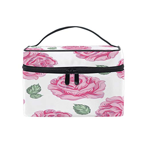 Blueangle Makeup Bag Travel Cosmetic Bag for Women Girls, Storage for Cosmetics Accessories