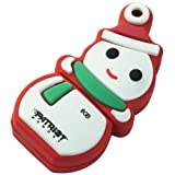Patriot Holiday Snowman 8 GB USB 2.0 Flash Drive PSF8GUSBXMASSM
