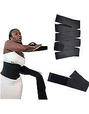 AOPNN Snatch Me Up Bandage Wrap, onzichtbare Wrap Taille Trainer Tape, verstelbare comfortabele buik Wrap ondersteuning riem