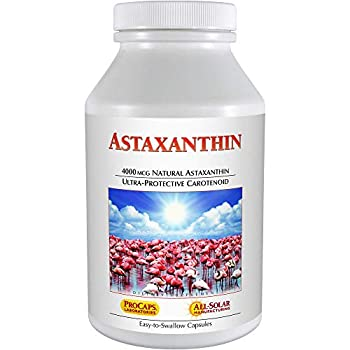 Image of Health and Household Andrew Lessman Astaxanthin 360 Softgels - 4000 mcg Natural Astaxanthin, Powerful Anti-Oxidant Carotenoid. Protection for Eyes, Heart, Skin and More. No Additives. Easy to Swallow Softgels