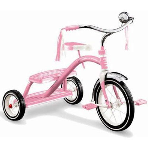 Radio Flyer Girls Classic Dual Deck Tricycle,
