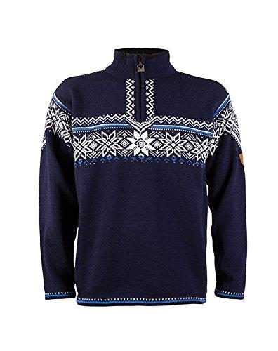 Dale of Norway Holmekollen Masculine Sweater Navy/Off Whi...