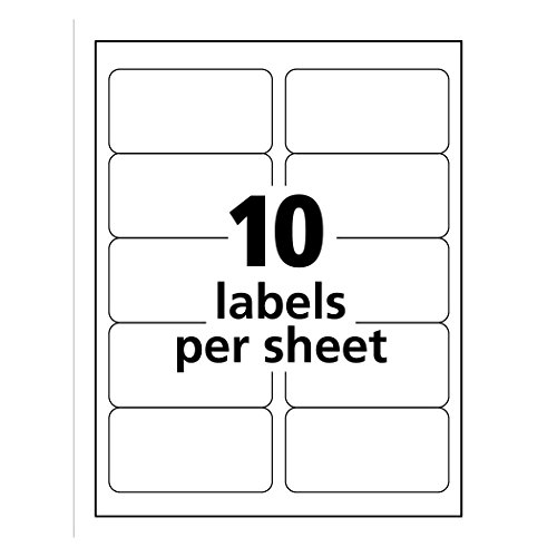 avery shipping address labels  laser printers  250 labels