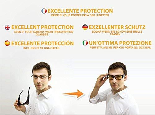 Tv Premium Certifié Filtre Anti En Haute Tablette Fatigue France 2 Surlunettes Contre Repos Lunettes Verres Ordinateur Ce en Lumière Mobile Ambrés Bleue Sur 1 Protection Ecrans De qABOPvfx