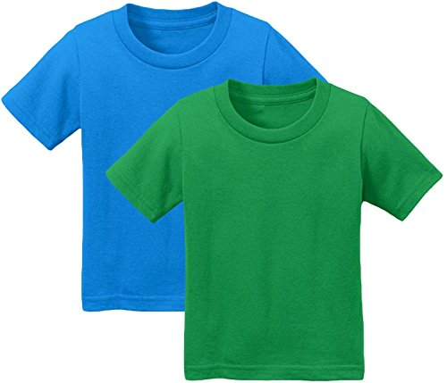 Unisex Children Cotton TShirt Short Sleeves - 2-7 yrs Old - Pack Deal