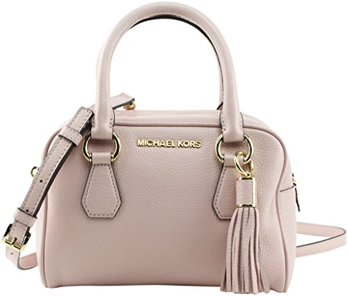 Michael Kors Bedford BLOSSOM Pebble Leather Small Tassel Satchel by Michael Kors