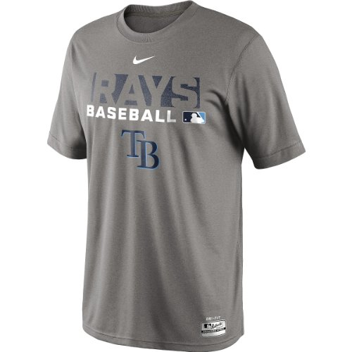 NIKE Men's Tampa Bay Rays Authentic Collection Dri-FIT Legend Team Issue T-Shirt