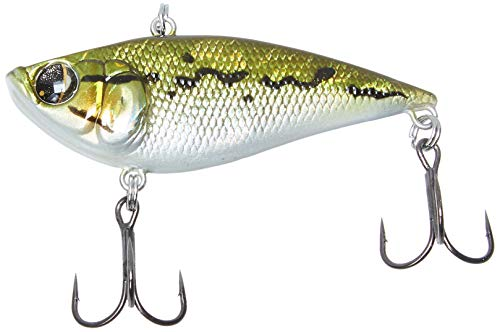 Owner American Mira Vibe 60 Bait, 2 3/8-Inch, 1/3-Ounce,  Baby Bass