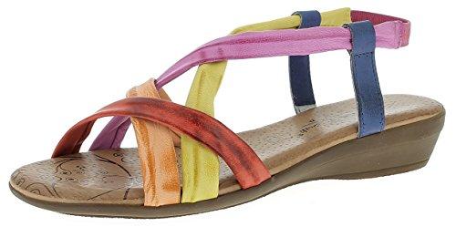 Andrea Conti Damen 0143401 Sandalen Multicolor