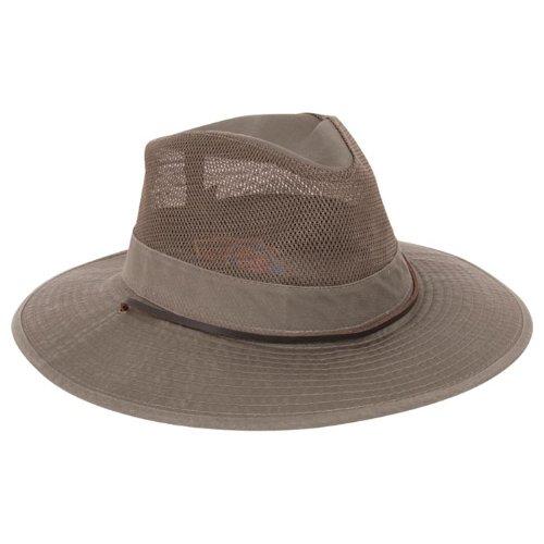 Dorfman Pacific Big Brim Safari Hat Olive Xl ()