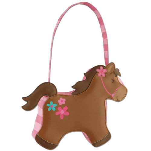 Stephen Joseph Go Go Purse, Girl Horse