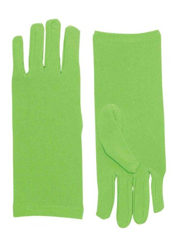 Forum Novelties Women's Novelty Short Dress Gloves, Light Green, One -
