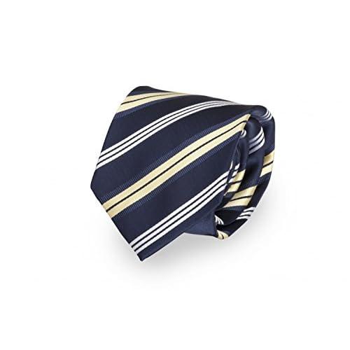 Corbata de Fabio Farini en azul