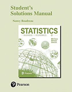 Amazon statistics for business and economics 13th edition students solutions manual for statistics for business and economics fandeluxe Image collections