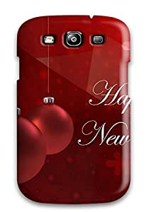 Earurns ZkSTgmV9602TzLFP Protective Case For Galaxy S3(happy New Year Greetings )