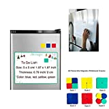 Dry Erase Erasers, 48 Pieces Mini Magnetic