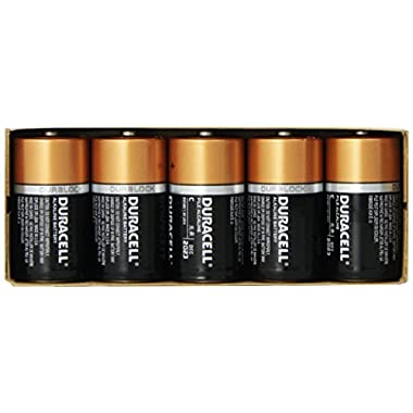 Duracell Size C 10 Coppertop Alkaline Batteries MN1400 Duralock