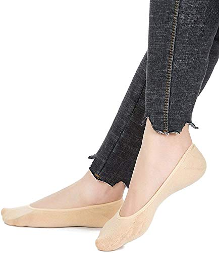 Miss Happy Feet Cotton Sole Ballerina Lace Boat Socks For Beautiful Ladies