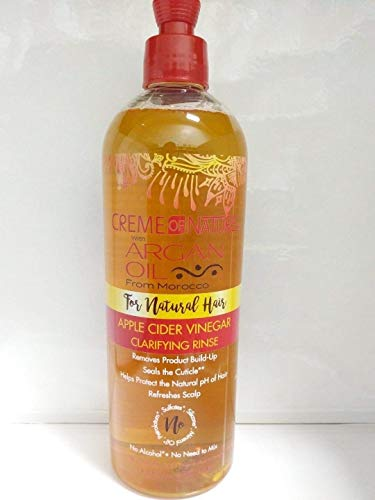 Creme Of Nature Argan Oil Apple Cider Vinegar Clarifying Rinse 15.5oz Creme Of Nature Nourishing Conditioner