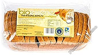 PAN DE MOLDE INTEGRAL ESPELTA 400 GR BIO: Amazon.es: Alimentación y bebidas