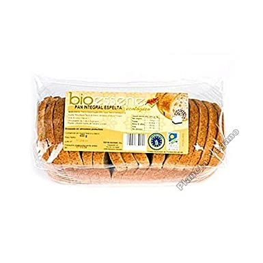 PAN DE MOLDE INTEGRAL ESPELTA 400 GR BIO: Amazon.es ...