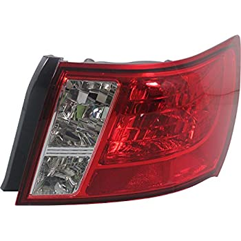 SU2805100 Fits 2008-2014 Subaru Impreza Passenger Side Outer Tail Light