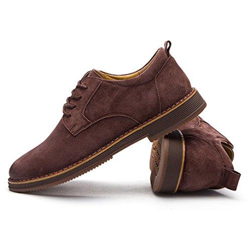 Feidaeu Zapatos Sintético Hombre Marrón De 6d6Pqgr