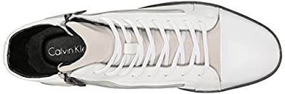 Calvin Klein Men's Berke Action/Suede Fashion Sneaker