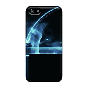 New MOx4842Ystl Blue Bot Covers Cases For Iphone 5/5s