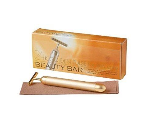Beauty Bar 24k Golden Pulse Facial Massager Japan Import (Beauty Bar) by Beauty Bar