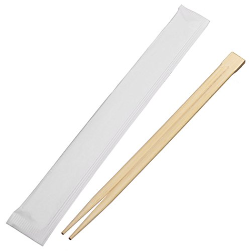 Universal Souvenir 9 Inch Disposable Bamboo Chopsticks with individual Package Connected at the Top (200 Pcs) by Universal Souvenir