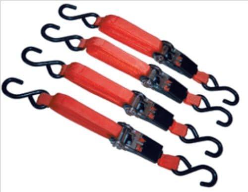 Tie Down Set Advanced Tool Design Model ATD-8072 4 Piece Ratcheting 15 ft