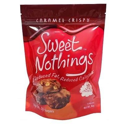ChocoRite - High Protein Diet Bar | Sweet Nothings Caramel Crispy Clusters | Low Calorie, Low Fat, Sugar Free, (7/Bag)
