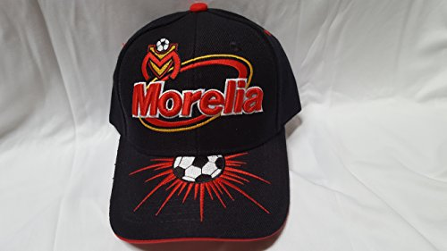 fan products of New Monarcas Morelia Black Velcro Liga MX Hat