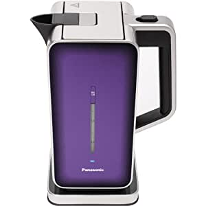 """Panasonic """"Breakfast Collection"""" NC-ZK1V Water Kettle, Stainless Steel"""