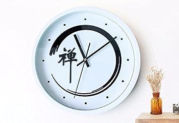 Wallbred Vintage Modernos Elegante Silencioso Creativo Reloj De Pared Extraíble Clásico para Salón, Dormitorio, Oficina, Hotel Reloj De Sobremesa 3D De ...
