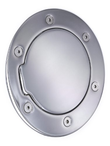 - All Sales 6041C Chrome Billet Aluminum Fuel Door