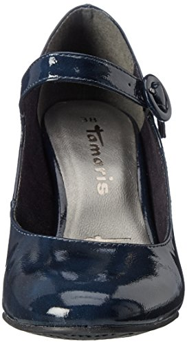 Tamaris 24413 Damen Pumps Blau (Navy)