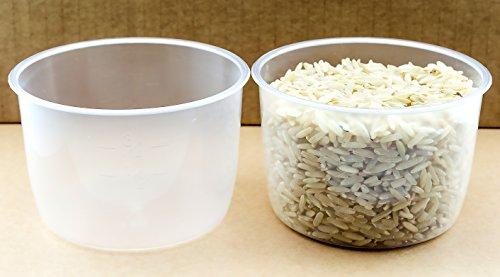 2 pack Rice Measuring Cup Clear Bright Kitchen Brand Cooker Replacement Cup ... (2 Rice Cups)