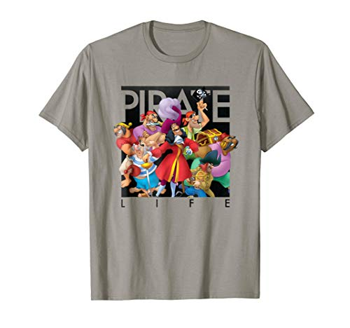 Disney Pirate Life Captain Hook T Shirt -