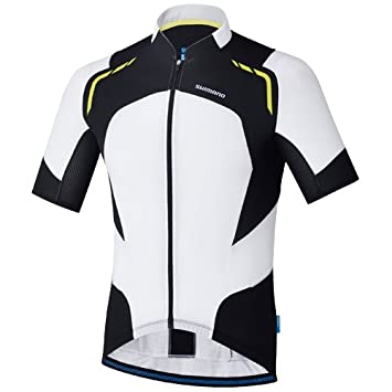 7d67ca9ba478c6 SHIMANO(シマノ) Hot Condition ジャージ 春夏用サイクリングウェア ECWJSPSPS21MI2 ホワイト S