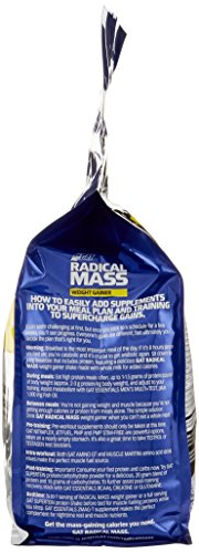 GAT Radical Mass Milkshake, 10 Pound