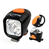 HITSAN Magicshine MJ 902 2000Lumens Bike Light Set Wireless Remote LED Lights Rechargeable Mini Tail Lights One Piece