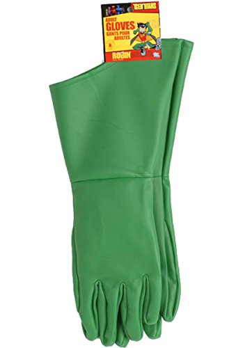 Robin Gloves From Batman (Robin Adult Gloves)