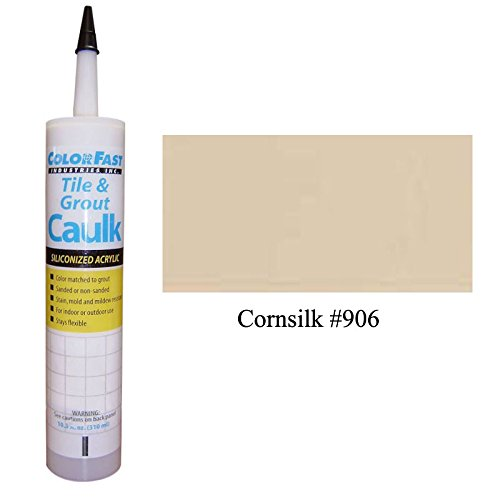 TEC Color Matched Caulk by Colorfast (Sanded) (906 Cornsilk)